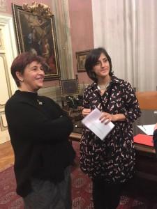 Dott.ssa Stefania Lanaro e Dott.ssa Anna Chiara Broccolo