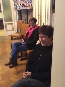 Dott.ssa Stefania Lanaro e la presidente Maria Grazia Giannini